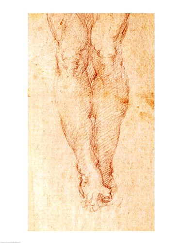 Study for a Crucifixion art print by Michelangelo Buonarroti for $32.50 CAD