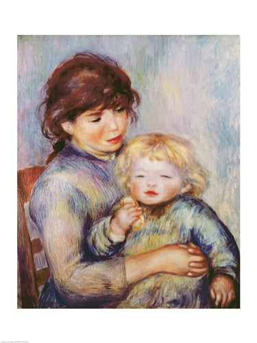 Maternity art print by Pierre-Auguste Renoir for $30.00 CAD