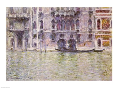 Le Palais da Mula, 1908 art print by Claude Monet for $30.00 CAD