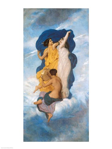 The Dance, 1856 art print by William Adolphe Bouguereau for $32.50 CAD