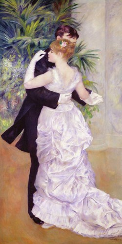 Dance in the City, 1883 art print by Pierre-Auguste Renoir for $45.00 CAD