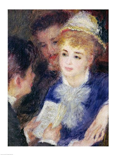 Reading the Role art print by Pierre-Auguste Renoir for $32.50 CAD