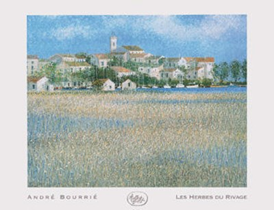 Les Herbes Du Rivage art print by Andre Bourrie for $41.25 CAD