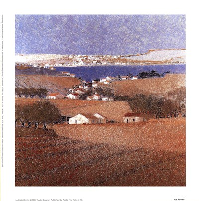 Le Paille Doree art print by Andre Bourrie for $8.75 CAD