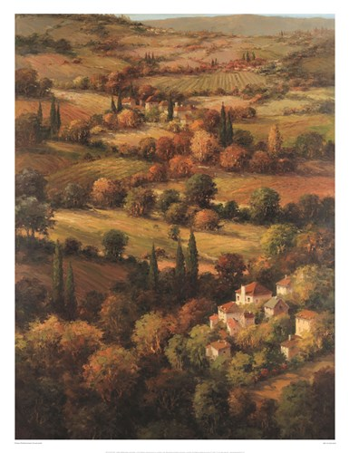 Mediterranean Countryside art print by Hulsey for $85.00 CAD