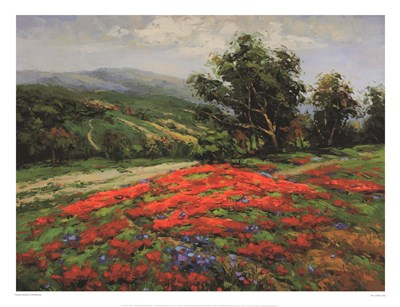 Meadow of Wildflower art print by Hulsey for $68.75 CAD