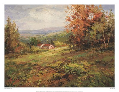 Italian Country Home art print by Hulsey for $68.75 CAD