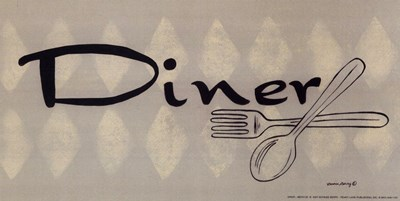 Diner art print by Bonnee Berry for $7.50 CAD