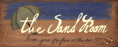 The Sand Room art print by Bonnee Berry for $15.00 CAD