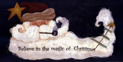 Magic of Christmas art print by Bonnee Berry for $15.00 CAD