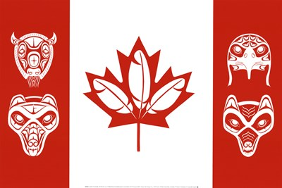 Spirit of Canada art print by French Lon for $21.25 CAD