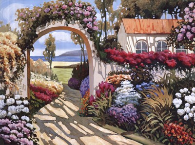 Pathway to the Sea I art print by Datian He for $87.50 CAD