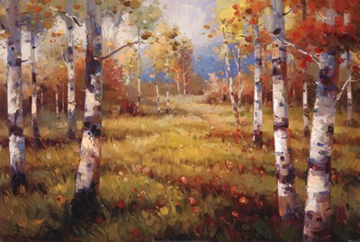 Meadow Clearing - close up art print by Stephen Douglas for $50.00 CAD