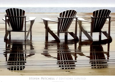 Two Plus One art print by Steven Mitchell for $52.50 CAD