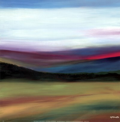 Prairie Abstract 4 art print by Mary Johnston for $16.25 CAD