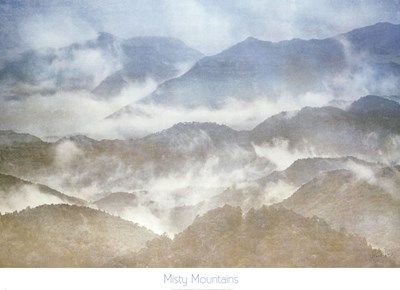 Misty Mountains art print by Harold Davis for $52.50 CAD