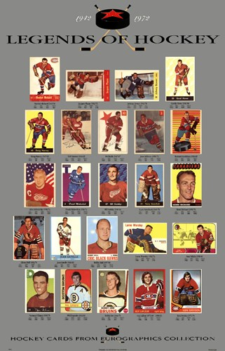 Legends of Hockey art print by Unknown for $53.75 CAD