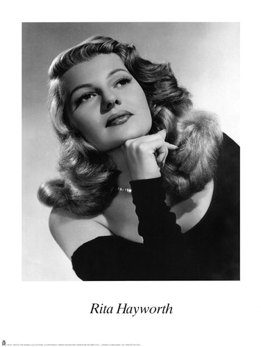 Rita Hayworth art print by Unknown for $20.00 CAD