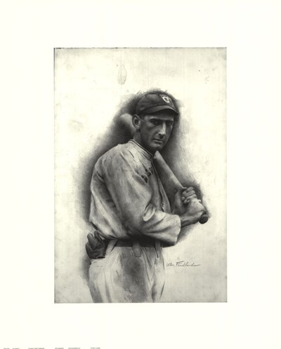 Shoeless Joe Jackson art print by Unknown for $26.25 CAD