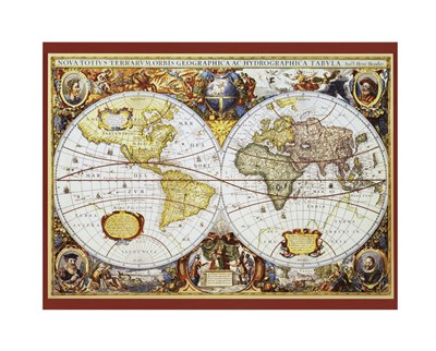 Map of the World III art print by Unknown for $26.25 CAD