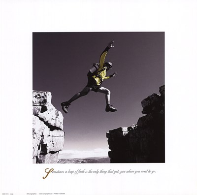 Inspirational - Leap art print by Unknown for $26.25 CAD