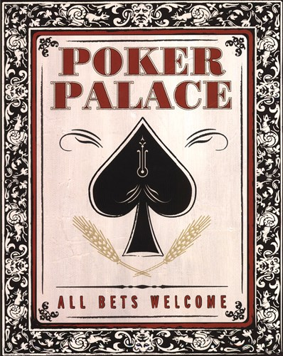 Poker Palace art print by Unknown for $26.25 CAD