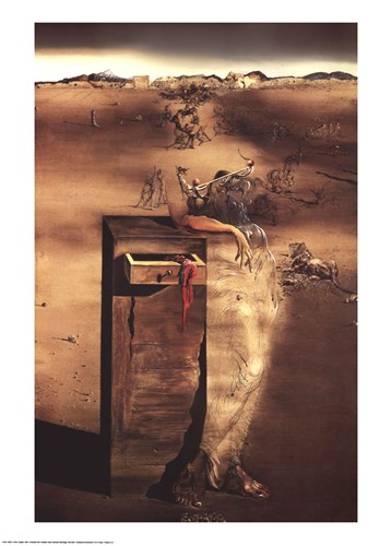 Spain, c.1938 art print by Salvador Dali for $45.00 CAD