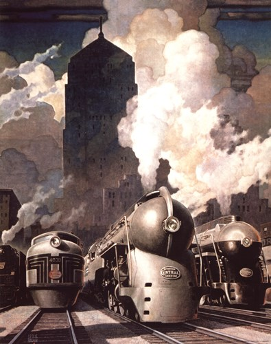 New York Central System art print by Unknown for $45.00 CAD