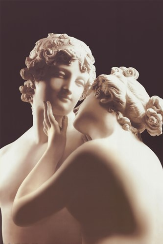 Lovers art print by Antonio Canova for $53.75 CAD