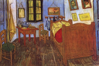 The Bedroom at Arles, c.1887 art print by Vincent Van Gogh for $53.75 CAD