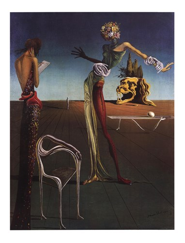 Woman with a Head of Roses, c.1935 art print by Salvador Dali for $53.75 CAD