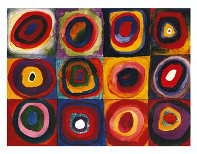 Farbstudie Quadrate, c.1913 art print by Wassily Kandinsky for $105.00 CAD