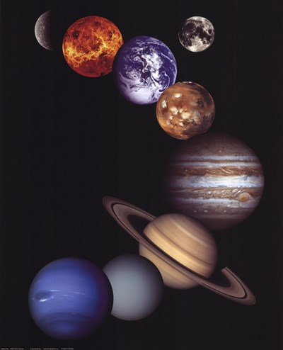 NASA - Solar System art print by Unknown for $20.00 CAD