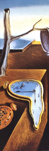 The Persistence of Memory, c.1931 (detail, narrow) art print by Salvador Dali for $22.50 CAD