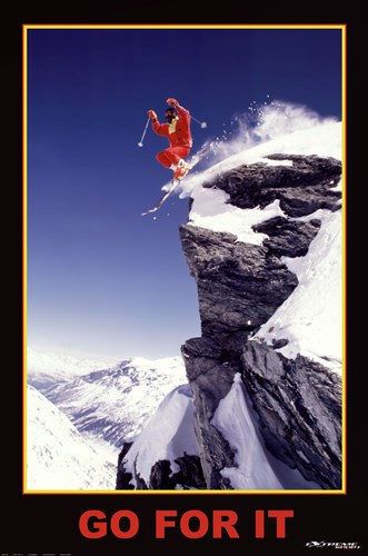 Go For It - Extreme Sport art print by Unknown for $26.25 CAD