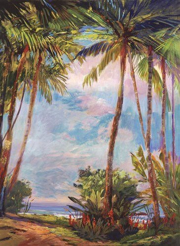 Path To Paradise II - petite art print by Rick J. Delanty for $15.00 CAD