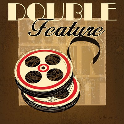 Double Feature art print by Stacy Gamel for $12.50 CAD