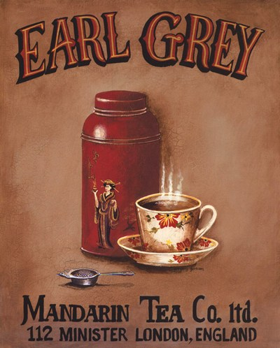 Earl Grey - Mini art print by Gregory Gorham for $7.50 CAD