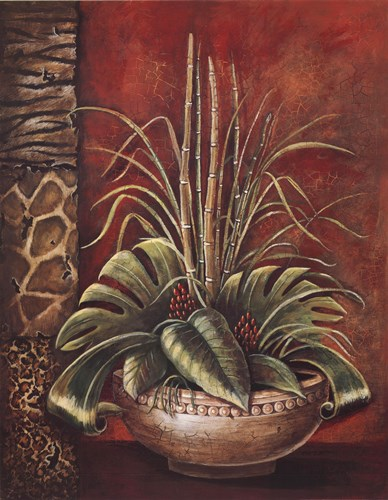 Exotic Tropical I art print by Gregory Gorham for $32.50 CAD
