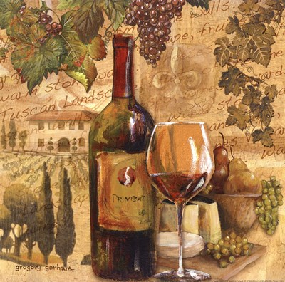 Tuscan Harvest - mini art print by Gregory Gorham for $12.50 CAD