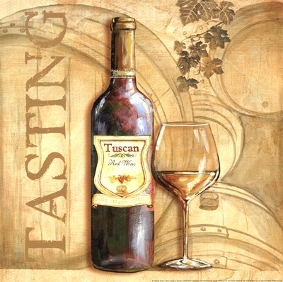 Tasting Notes I art print by Gregory Gorham for $12.50 CAD