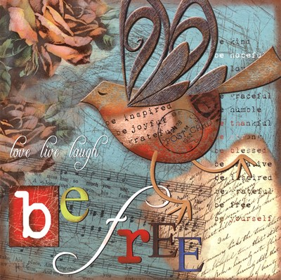 Just Be Free art print by Victoria Hutto for $12.50 CAD