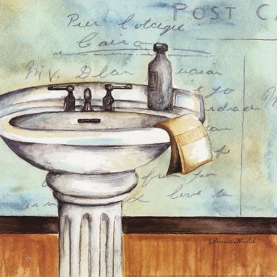 Refresh Bath art print by Donna Knold for $12.50 CAD