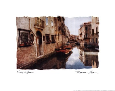 Venice at Rest art print by Maureen Love for $20.00 CAD