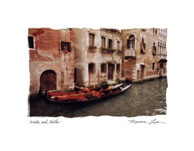Water and Walls art print by Maureen Love for $20.00 CAD