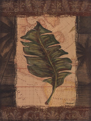 Tropical Leaf I art print by Todd Williams for $15.00 CAD