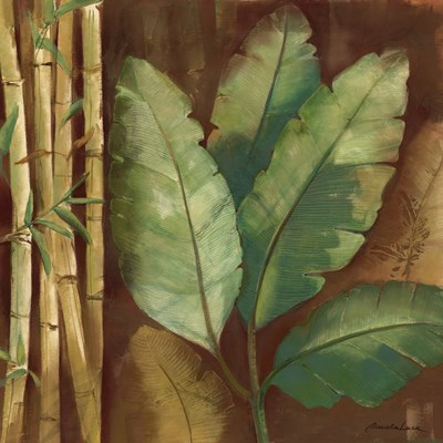 Bamboo & Palms I art print by Pamela Luer for $13.75 CAD