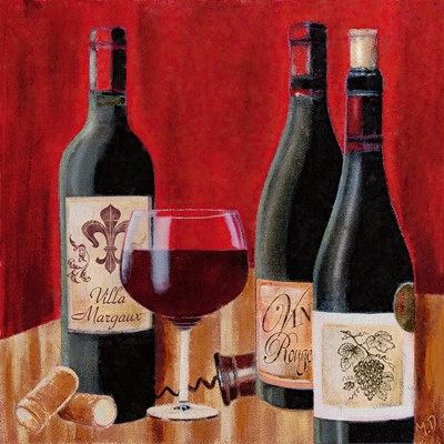 A Tasting I art print by Maria Donovan for $13.75 CAD