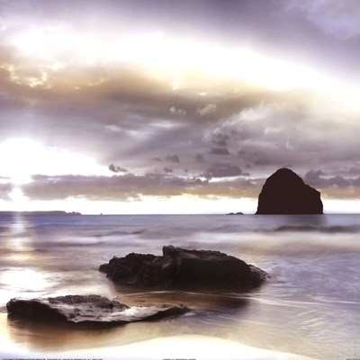 Sunset At Trebarwith Strand art print by Danita Delimont for $27.50 CAD