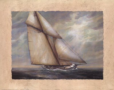 Against the Wind art print by Rick Mundy for $17.50 CAD